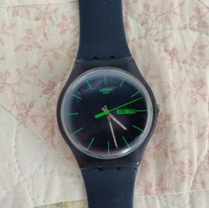 Swatch Accessories - ⌚ Swatch Navy blue and Green watch